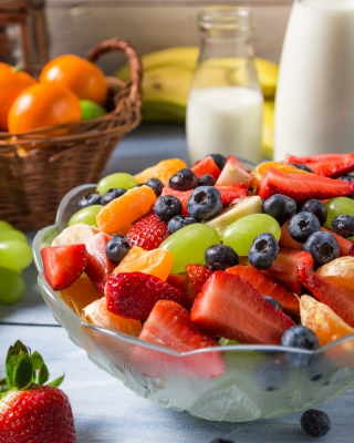 Healthy Berry Dessert - Obrázkek zdarma pro Nokia Asha 308
