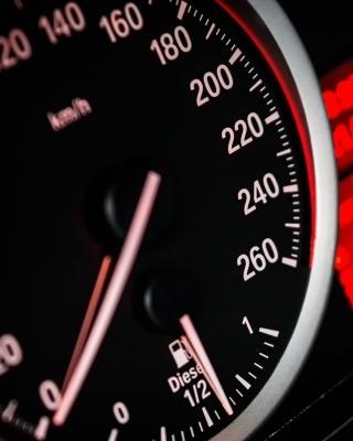 BMW Diesel Speedometer - Obrázkek zdarma pro Nokia Asha 502