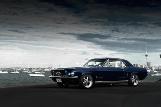 Ford Mustang 1967 Background for Android, iPhone and iPad