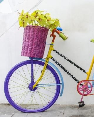 Flowers on Bicycle - Obrázkek zdarma pro Nokia X3-02