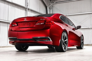 Free Acura TLX Picture for Android, iPhone and iPad