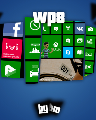 Wp8, Windows Phone 8 - Obrázkek zdarma pro iPhone 6 Plus