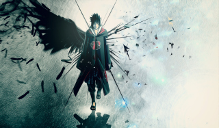 Naruto, Sasuke Background for Android, iPhone and iPad