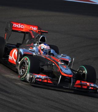 Jenson Button - Mclaren F1 - Obrázkek zdarma pro Nokia Asha 203