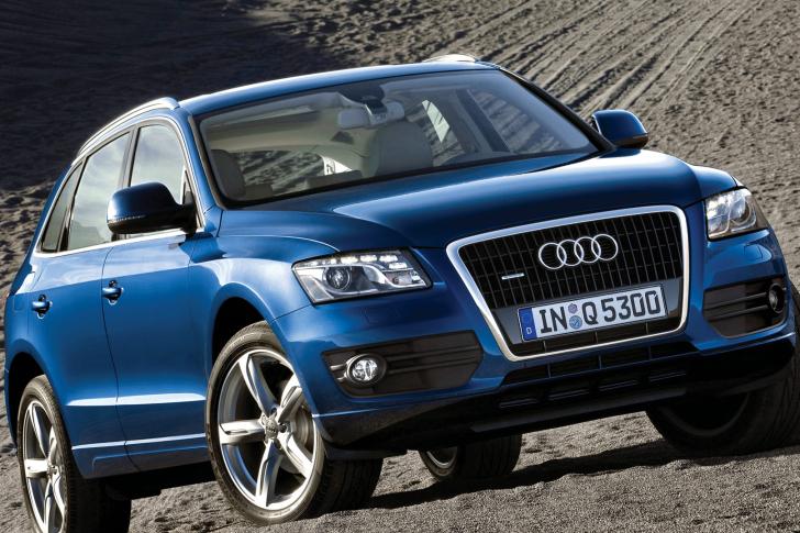 Audi Q5 Blue wallpaper