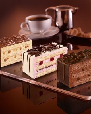 Chocolate Cake - Obrázkek zdarma pro Nokia Asha 203