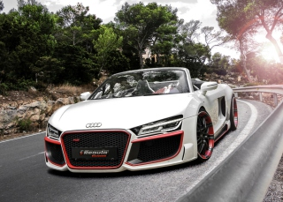 Audi R8 V10 Background for Android, iPhone and iPad