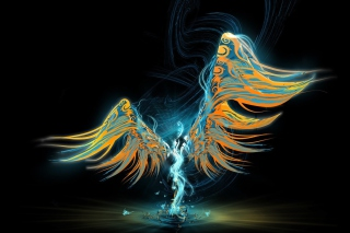 Abstract Angel Wallpaper for Android, iPhone and iPad
