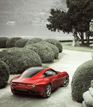 2013 Alfa Romeo Disco Volante - Obrázkek zdarma pro Nokia C7