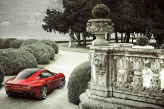 2013 Alfa Romeo Disco Volante - Obrázkek zdarma pro 800x480