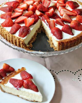 Strawberry Cheesecake - Obrázkek zdarma pro 480x800