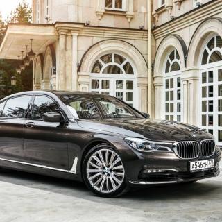 BMW 7 Series G12 - Obrázkek zdarma pro iPad