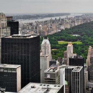 Central Park Photo Walking - Obrázkek zdarma pro iPad