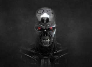 Terminator Skeleton - Obrázkek zdarma pro Android 480x800