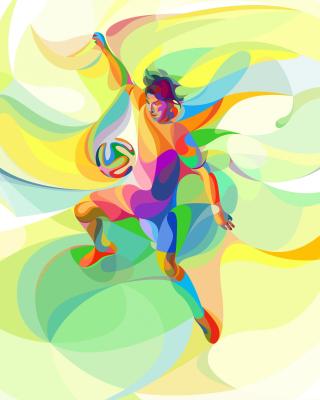 Rio 2016 Olympics Soccer - Obrázkek zdarma pro Nokia C3-01