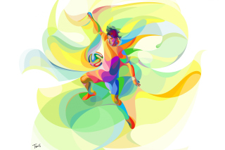 Rio 2016 Olympics Soccer - Obrázkek zdarma pro Samsung Galaxy Tab 2 10.1