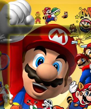 Mario - Obrázkek zdarma pro Nokia Asha 308