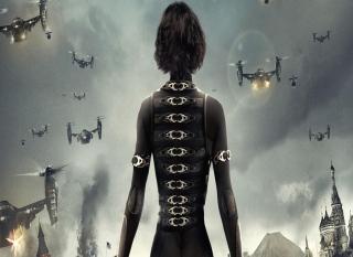 Alice In Resident Evil - Obrázkek zdarma pro LG P970 Optimus