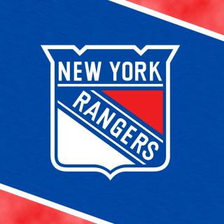 New York Rangers Logo - Obrázkek zdarma pro iPad