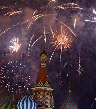 St. Basil's Cathedral, Moscow - Obrázkek zdarma pro 240x400