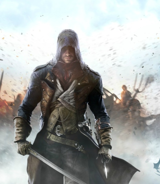 Assassin's Creed Unity - Obrázkek zdarma pro Nokia Asha 503