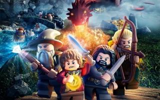 Lego The Hobbit Game - Obrázkek zdarma pro Android 1200x1024