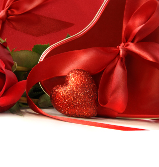Red Heart Of Love - Obrázkek zdarma pro 128x128