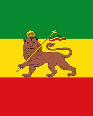 Flag of Ethiopia - Obrázkek zdarma pro Nokia Asha 501