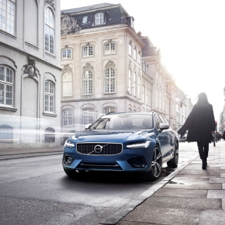 Volvo S90 - Obrázkek zdarma pro iPad mini