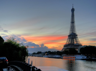 First Time In Paris Wallpaper for Android, iPhone and iPad