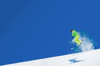 Extreme Skiing Wallpaper for Android, iPhone and iPad