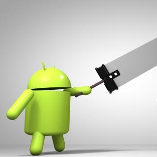 Android Logo - Obrázkek zdarma pro iPad