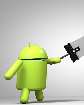 Android Logo - Obrázkek zdarma pro Nokia Asha 306