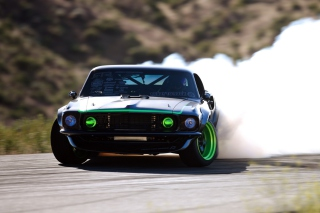 Ford Mustang Drifting Wallpaper for Android, iPhone and iPad