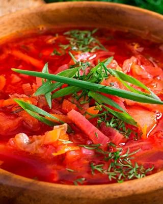 Borscht Soup - Obrázkek zdarma pro 768x1280