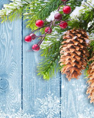 Indoor Christmas Decorations - Obrázkek zdarma pro 176x220