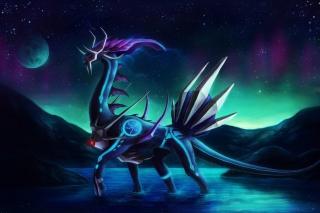 Dragon Moon - Obrázkek zdarma pro 800x480
