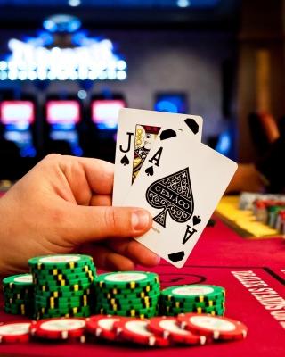 Play blackjack in Casino - Obrázkek zdarma pro Nokia Lumia 900