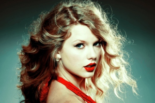 Taylor Swift In Red Dress Wallpaper for Android, iPhone and iPad