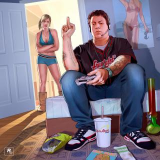 Grand Theft Auto V Jimmy Gamer - Obrázkek zdarma pro 128x128