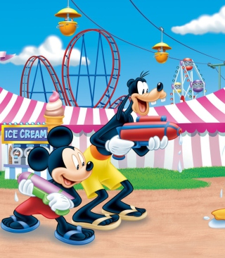 Mickey - Obrázkek zdarma pro Nokia X3