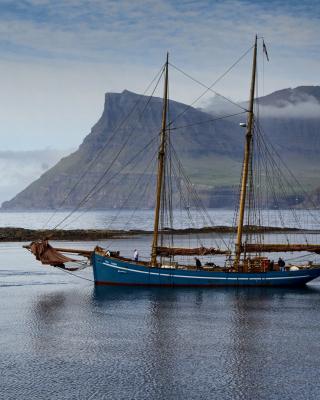 Bay Faroe Islands, Denmark - Obrázkek zdarma pro 320x480