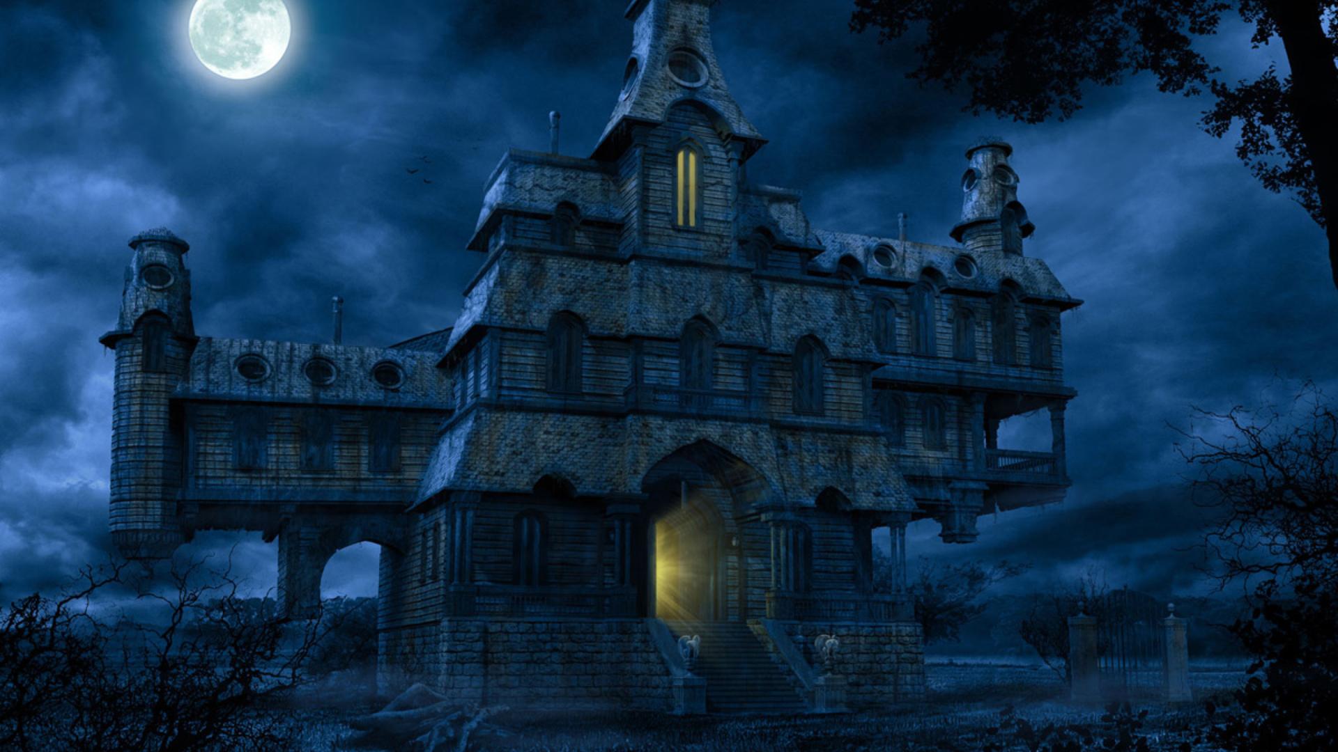 Haunted house  № 587612  скачать