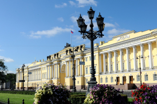 Saint Petersburg, Peterhof Palace Background for Android, iPhone and iPad
