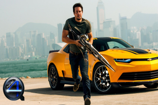Mark Wahlberg In Transformers Wallpaper for Android, iPhone and iPad