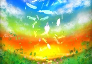 Feather Art - Obrázkek zdarma pro Android 600x1024