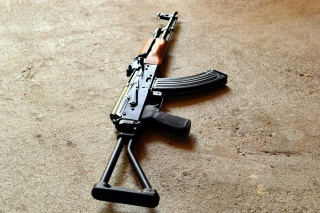 AKS 74 Assault Rifle Wallpaper for Android, iPhone and iPad