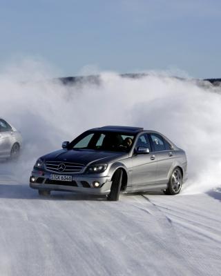 Mercedes Snow Drift - Obrázkek zdarma pro Nokia X7