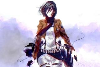 Картинка Mikasa Ackerman на андроид