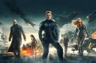 Captain America The Winter Soldier 2014 - Obrázkek zdarma pro 1280x800